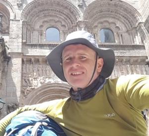 Camino Santiago Pilgrim