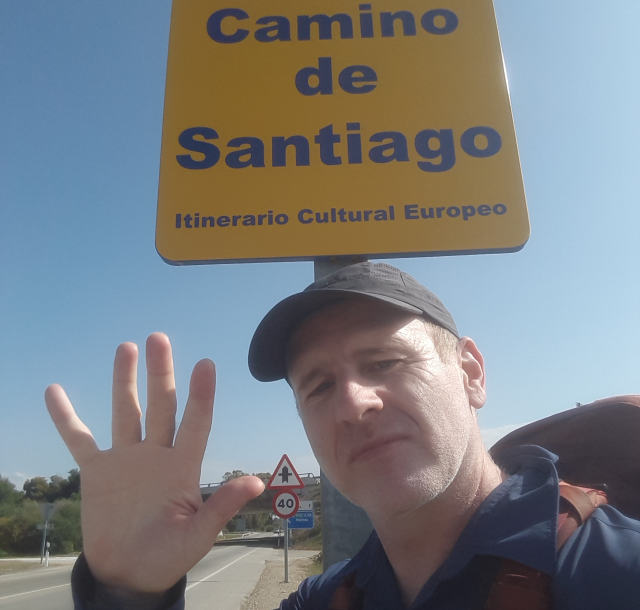 Camino from Sevilla to Santiago