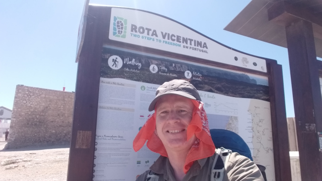 end of fishermans trail portugal