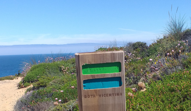 sign for fishermans trail