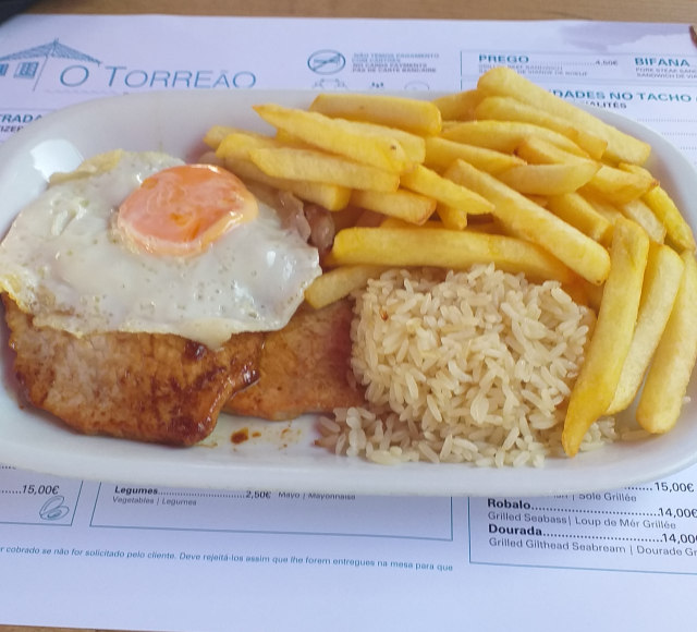 typical Portuguese food